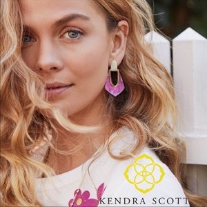 Kendra Scott Kensley Gold Hoop Earrings